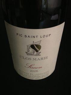 Pic Saint Loup - Domaine Clos Marie - Simon 2005