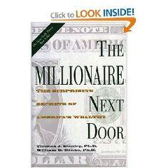 The Millionaire Next Door: The Surprising Secrets of America's Wealthy [Hardcover]