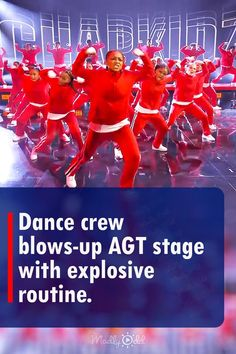 On America's Got Talent, the 35 members of the dance crew Chapkidz showed that they were masters of their art. Each one of them kept up their energy and passion throughout the entire performance. They danced to 'Gasolina' and 'Con Calma.' It was an excellent choice to display the talent of all the dancers in their large group. During their routine, the audience was on their feet and clapping along to the music. #agt #americasgottalent #dance