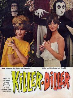 ✨🌜🌈⚡️Miss Lucy Fleur⚡️🌈🌛✨ - gravesandghouls: Cutex Halloween ads, 1966 ✨🥀 Vintage Nails, Vintage Makeup, Vintage Beauty, Vintage Fashion, Retro Makeup, Retro Ads, Vintage Advertisements, Retro Vintage, Funny Vintage