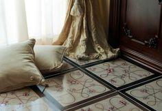 Cotto: Collezione Foulards da Francesco De Maio | #design #cersaie2014 #cersaie #bathroom #tiles #interiordesign |