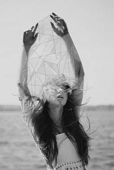 Geometric line art sacred geometry inspiration ideas Photomontage, White Photography, Portrait Photography, Geometric Photography, Mode Collage, Design Art, Graphic Design, Illustration, Fashion Collage