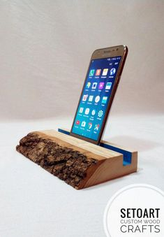 Items similar to Cell Phone Holder Wood Docking Station Wooden Phone Stand Wood Dock Station Phone Dock Wood For Her Gift For Him Coworker' Gift Father's Day on Etsy Wooden Phone Holder, Desk Phone Holder, Iphone Holder, Diy Phone Stand, Ipad Stand, Wood Phone Stand, Iphone S6 Plus, Iphone Phone, Diy Wood Projects