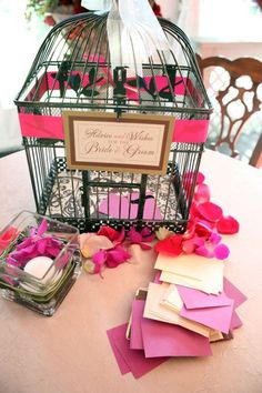 Advice and Wishes to Bride and Groom