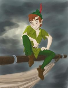 Peter pan always have and always will be waiting for him to take me to neverland (:
