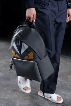 Fendi Monster Eye Backpack
