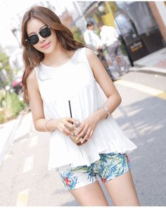 Click Instantly To Order! Free Shipping Worldwide! Summer Light Sleeveless Top – One Size [ Jun11674NS ] ★ Limited Sale Time Only ★ - S$44.00
