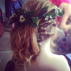 Bridesmaid hair