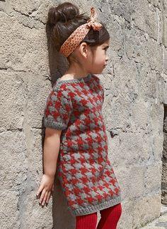 Mag 168 - #35 - Short-sleeved dress | Buy, yarn, buy yarn online, online, wool, knitting, crochet | Buy Online