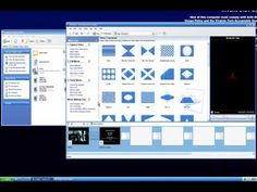 window movie maker templates