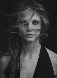 Anna Selezneva by Peter Lindbergh for Numero