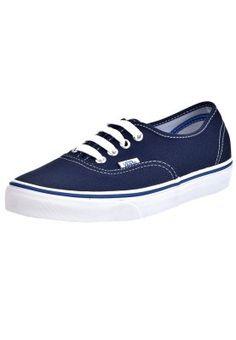 04d4fd0327 Köp Vans AUTHENTIC - Sneakers - dress blues nautical blue för 487