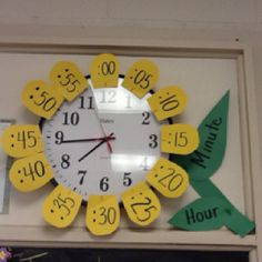 My little man is learning how to tell time in school right now and this would be a great way to help him