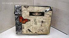 Album für viele Aufbewahrungsmöglichkeiten Decorative Boxes, Album, Home Decor, Creative, Crafting, Decoration Home, Room Decor, Home Interior Design, Decorative Storage Boxes