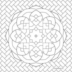 Creative Haven Tessellation Patterns Coloring Book Dover