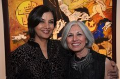 Shabana Azmi and Aroon Shivdasani at past NYIFF