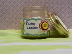 Baby Lotion All Natural Handmade Petroleum free with by LavishbyCK, $6.00