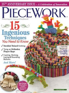 We are delighted to have you with us as we celebrate PieceWork's 25th-anniversary!