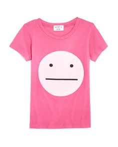 Wildfox Girls' Emoticon Tee - Sizes 7-14