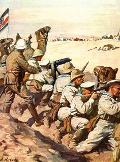 German Landing Party in North Africa