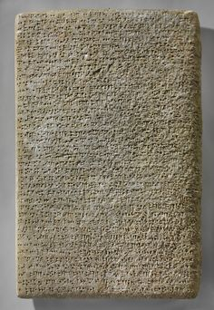 Stone cuneiform tablet with inscription of Ashurnasirpal II. Nimrud (Ancient Kalhu), Mesopotamia, Neo-Assyrian, B. Ancient Mesopotamia, Ancient Civilizations, Ancient History, Art History, British Schools, Ancient Near East, Maker Culture, Ancient Artifacts, Mark Making