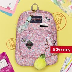 Hack the backpack with fun DIY ideas using pins, tape and more! Add personality to a new backpack for school or give last year's backpack an update. It's easy with these DIY tricks.