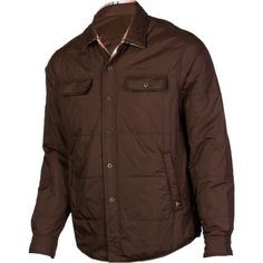 Relaxed, rugged, AND reversible. The prAna Rhody Reversible Jacket #greatgift #fathersday
