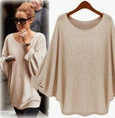 Comodo sweater para salir de compras al mercado al aire libre.