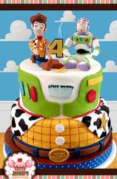 #toy_story #woody #buzz #cake #torta