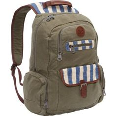 Amazon.com: Roxy Luggage Ship Out Backpack, Army, One Size: Clothing