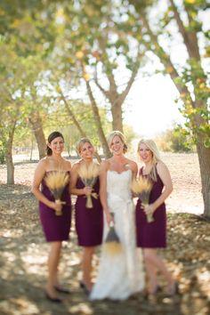 #fallwedding color palette: sangria + wheat - photo by Cameron Ingalls - http://ruffledblog.com/galleries/harvest-fall-wedding/