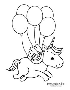 100 magical unicorn coloring pages: The ultimate (free!) printable collection, a. - RTB - 100 magical unicorn coloring pages: The ultimate (free!) printable collection, at Print Color Fun. Unicorn Coloring Pages, Cute Coloring Pages, Mermaid Coloring, Free Coloring, Coloring Pages For Kids, Coloring Sheets, Coloring Books, Birthday Coloring Pages, Kids Coloring