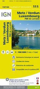 IGN 111 - Metz Verdun Luxembourg