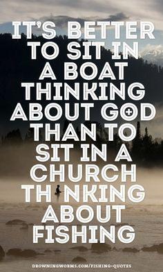 Church - Fishing Quote