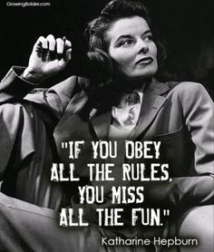 #Quoteoftheday with #KatharineHepburn . . . #quotes #quotestoliveby #wisdom #knowledgeispower #knowledge #actresses #hollywood #greatactor #goldenage #movies #famousquotes #famouspeople #stars