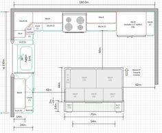 21 best kitchen drawings plan elevation section images dressers rh pinterest com