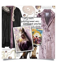 """""""Alice Through the Looking Glass"""" by dolly-valkyrie ❤ liked on Polyvore featuring Marc Jacobs, Rosie Assoulin, DaVonna, Chanel, Giuseppe Zanotti, contestentry and DisneyAlice"""