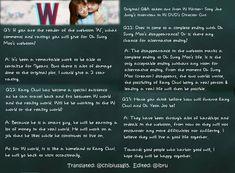 W Two Worlds, Han Hyo Joo, Second World, Cinematography, Webtoon, Thriller, Acting, Writer, Interview