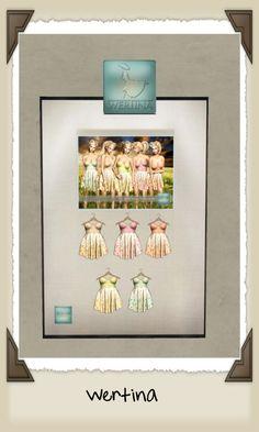 Wertina -  Dotty Dress in 6 colors @ 80L each