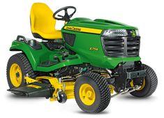 4-Wheel Steer Lawn Tractor | Riding Mower | X754 | JohnDeere US