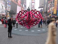 Times Square'in Yeni Kalbi Belli Oldu