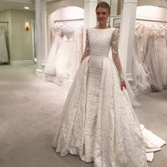 We're happy to have our newest exclusive designer @tonywardcouture at #Kleinfeld for a trunk show through tomorrow. Come and see his new collection and say hi to #tonywardcouture!