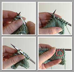 Creative Knitting Blog - advanced decrease techniques