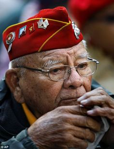 "My father was in Guadalcanal Marines. He referred to the Navajo Code Talkers as the ""WindTalkers"" Kieth Little, one of the last four Navajo Codetalkers died, January Native American History, Native American Indians, Native Americans, American Code, Code Talker, Navajo Nation, American Veterans, Usmc, Marines"