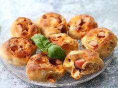 Pizzaboller Shrimp, Meat, Baking, Food, Bakken, Essen, Meals, Backen, Yemek