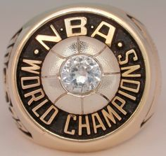 1972 NBA Championship Ring - Lakers