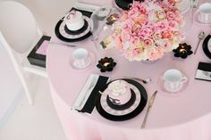 Coco Chanel inspired party by As Sweet as it Gets Events | www.assweetasitgets.com