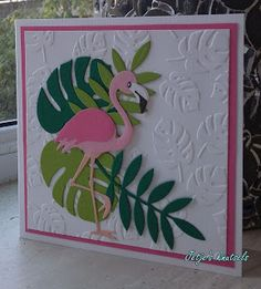 Fancy Fold Cards, Folded Cards, Quilling, Nautical Cards, Cricut Cards, Stamping Up Cards, Bird Cards, Marianne Design, Animal Cards