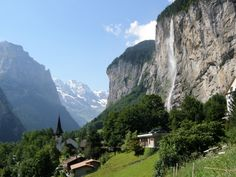 Lauterbrunnen: More beautiful in real life than this photo...
