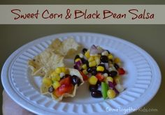 Easy salsa recipe that I think the kids will love! This site has great ideas!